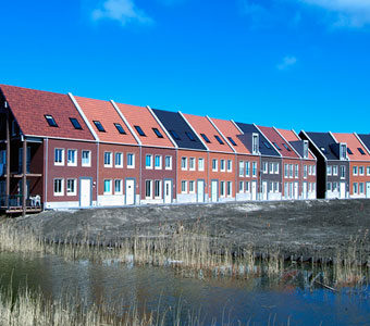 New construction in Meerland, Almere-Poort