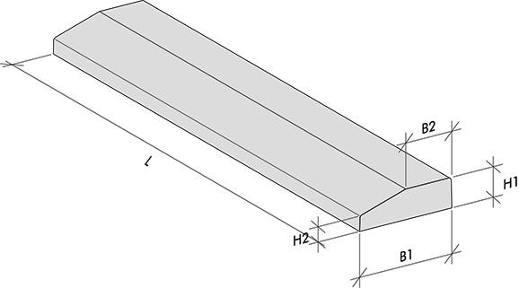 Angled inside door thresholds