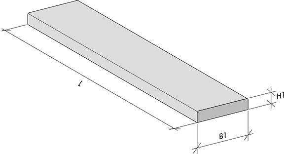 Flat-style inside door thresholds