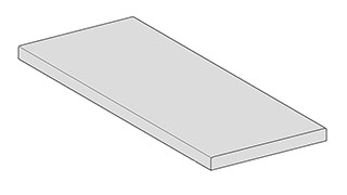 Window sills (interior) - Flat