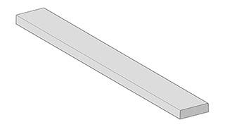 Flachreliefschwellen (innentürschwellen) - Flach
